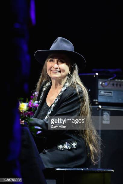Bobbie Nelson performs in concert with Willie Nelson on New Years Eve at ACL Live on December 31 2018 in Austin Texas