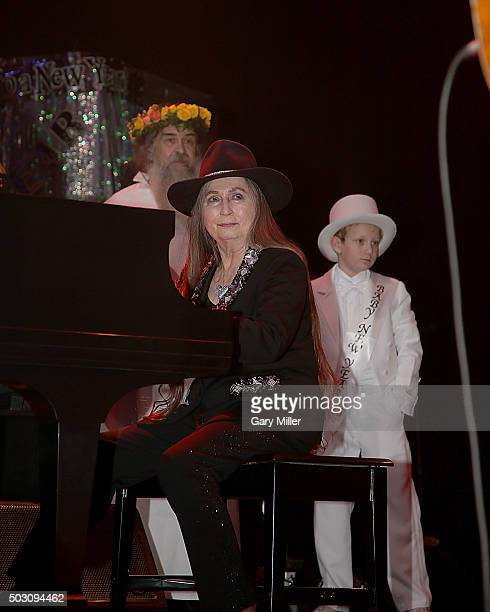 Bobbie Nelson sister of Willie Nelson performs in concert at ACL Live on December 31 2015 in Austin Texas