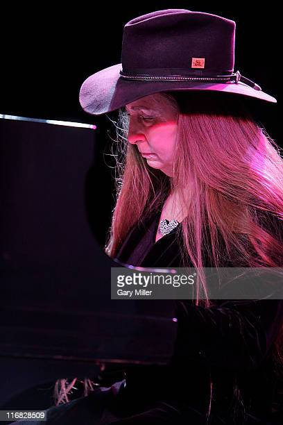 Bobbie Nelson sister of Willie Nelson performs in concert at the Austin Music Hall on December 15 2009 in Austin Texas