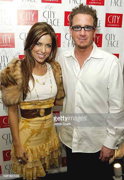 Bobbie Thomas and Chad Wright at City Face during City Face, GRAMMY's Official Talent Lounge at City Cosmetics Green Room - Day Two at Staples Center...