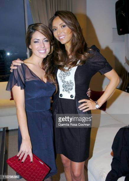 "Bobbie Thomas and Giuliana DePandi during W Magazine's ""The New York Affair"" Party at Penthouse Four in New York City, New York, United States."