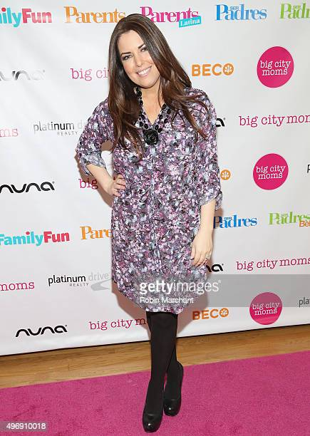 Bobbie Thomas attends Big City Moms Biggest Baby Shower NYC at Metropolitan Pavilion on November 12, 2015 in New York City.
