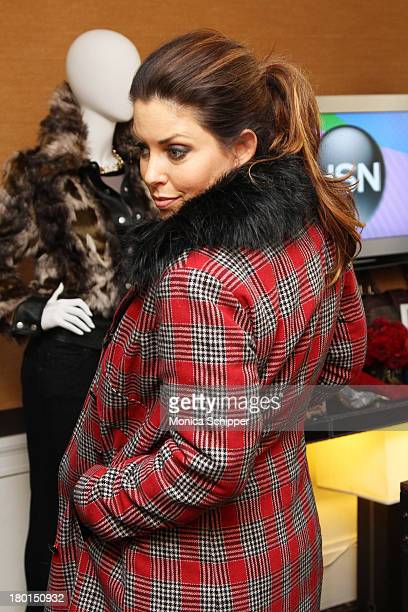 Bobbie Thomas attends the HSN Fashion Week Lounge at the Empire Hotel on September 9, 2013 in New York City.