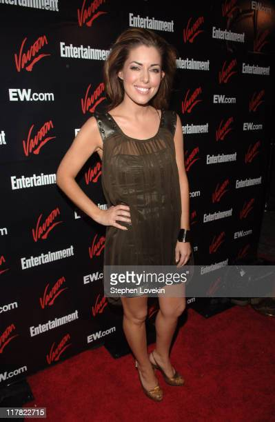 Bobbie Thomas during Entertainment Weekly/Vavoom 2007 Upfront Party - Red Carpet at The Box in New York City, New York, United States.