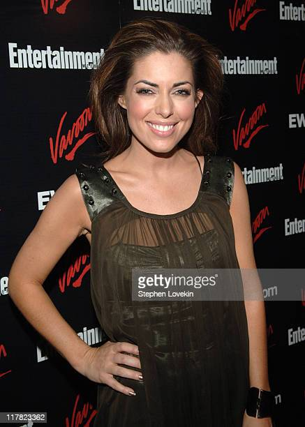 Bobbie Thomas during Entertainment Weekly/Vavoom 2007 Upfront Party Red Carpet at The Box in New York City New York United States