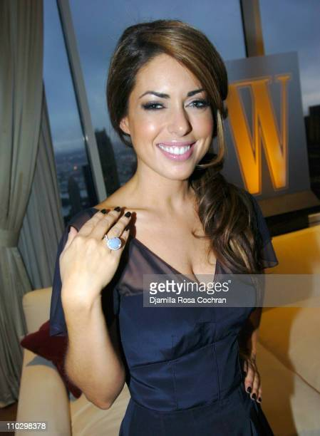 "Bobbie Thomas during W Magazine's ""The New York Affair"" Party at Penthouse Four in New York City, New York, United States."