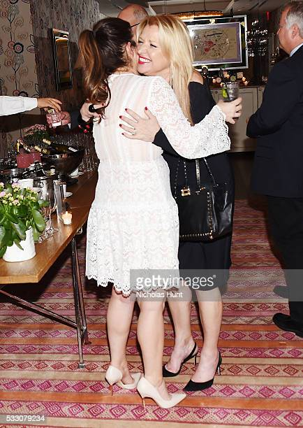 """Bobbie Thomas, Mindy Grossman attends Disney's """"Alice Through The Looking Glass"""" New York Screening & Dinner at Crosby Street Hotel on May 19, 2016..."""