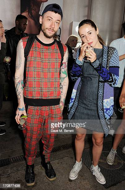 Bobby Abley attends the Katie Grand X Hogan and NETAPORTERCOM cocktail party to celebrate the launch of the Katie Grand X Hogan Collection launching...