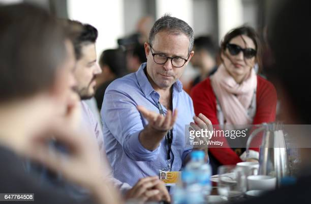 Bobby Allen MUBI leads a working breakfast session on Beyond the Big Screen during day two of Qumra the third edition of the industry event by the...