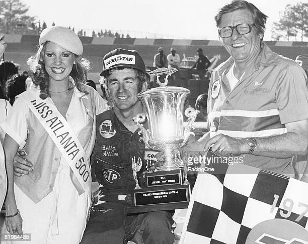 Bobby Allison carried the Bud Moore Ford to victory in the Atlanta 500 in 1978 becoming the first repeat winner of the 78 season