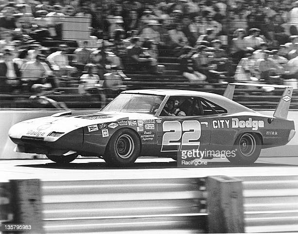 Bobby Allison drove Dodges on the NASCAR Cup circuit during the season and ran this winged Dodge Charger Daytona in the superspeedway events Allison...