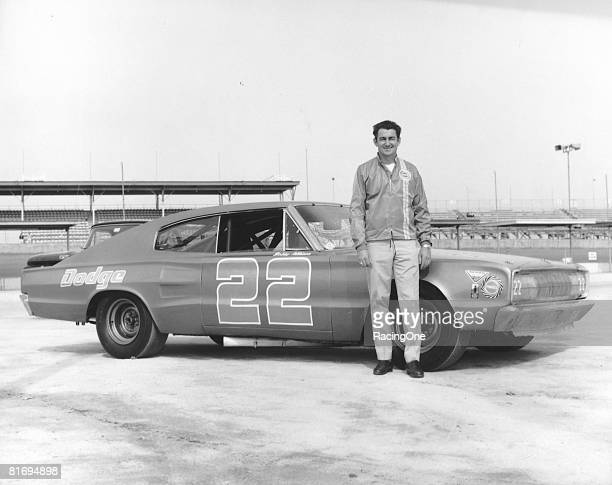 Bobby Allison shown in the mid1960s with his Dodge Charger