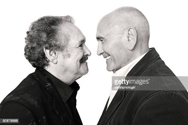 Bobby Ball and Tommy Cannon Photo Shoot on September 30, 2009 in Scarborough, England.