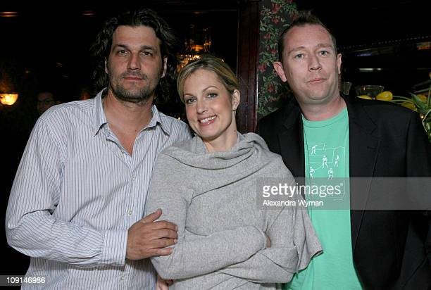 Bobby Bauer Ali Wentworth and Jason Farrand during Head Case Season Premiere Party in Los Angeles at Private Residence in Los Angeles California...