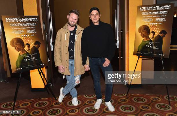 Bobby Berk and Antoni Porowski attend the screening of 'Boy Erased' at The Alamo Drafthouse Cinema on October 23 2018 in Kansas City Missouri
