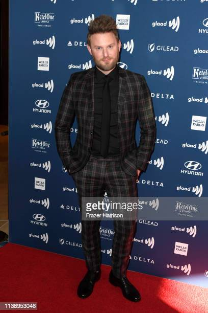 Bobby Berk attends the 30th Annual GLAAD Media Awards at The Beverly Hilton Hotel on March 28 2019 in Beverly Hills California