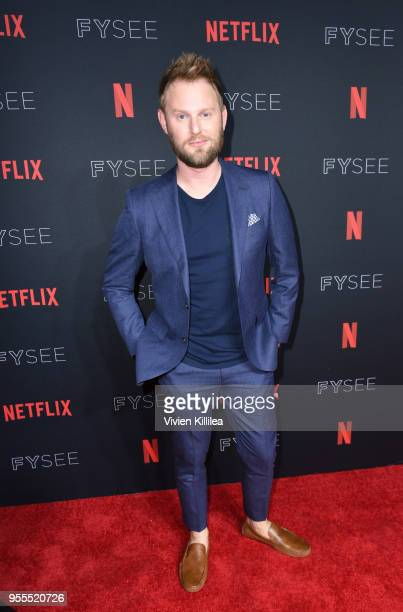 Bobby Berk attends the Netflix FYSee Kick Off Party at Raleigh Studios on May 6, 2018 in Los Angeles, California.