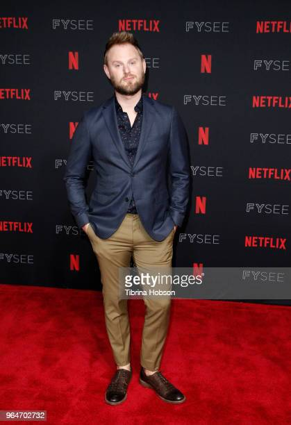 Bobby Berk attends the NETFLIXFYSEE event for 'Queer Eye' at Netflix FYSEE At Raleigh Studios on May 31, 2018 in Los Angeles, California.