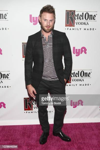 Bobby Berk attends The Queer Eye Emmy Cast Party hosted by Ketel One Family-Made Vodka at Kimpton La Peer Hotel on September 8, 2018 in West...