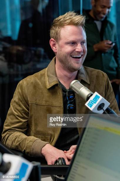 Bobby Berk visits SiriusXM to talk about the 'Queer Eye for the Straight Guy' reboot at SiriusXM Studios on February 14 2018 in New York City