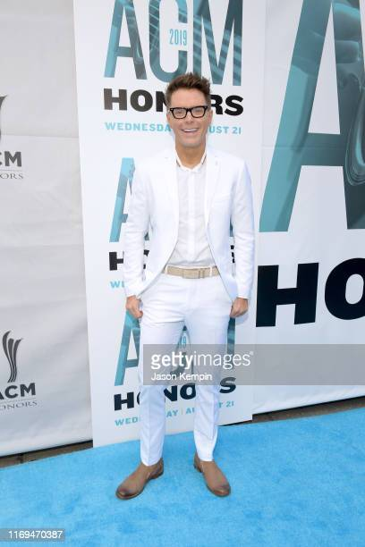 Bobby Bones attends the 13th Annual ACM Honors at Ryman Auditorium on August 21 2019 in Nashville Tennessee