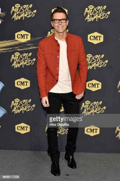 Bobby Bones attends the 2018 CMT Music Awards at Bridgestone Arena on June 6 2018 in Nashville Tennessee