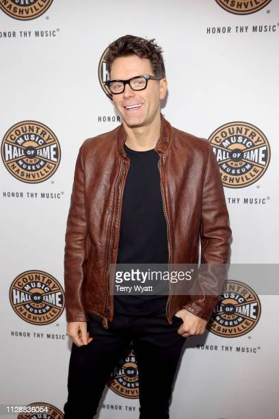 Bobby Bones attends the Country Music Hall of Fame and Museum's new exhibition American Currents The Music of 2018 on March 5 2019 in Nashville...