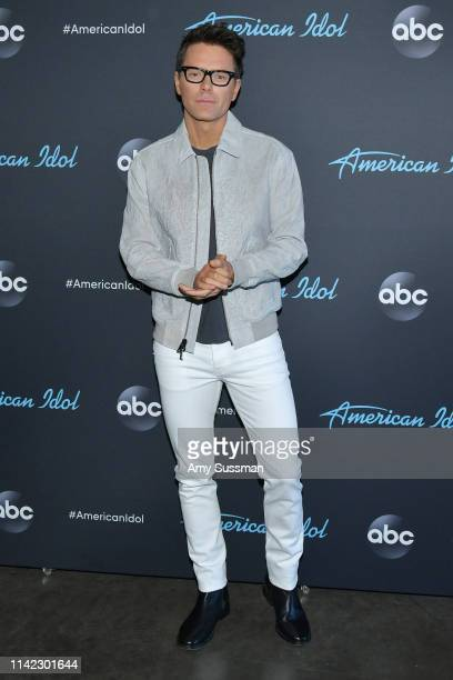Bobby Bones attends the taping of ABC's American Idol on April 12 2019 in Los Angeles California