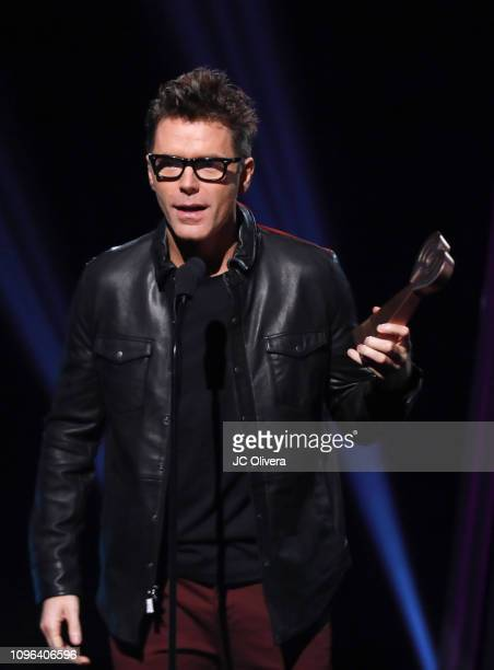Bobby Bones speaks onstage during the 2019 iHeartRadio Podcast Awards Presented By Capital One at iHeartRadio Theater on January 18 2019 in Burbank...