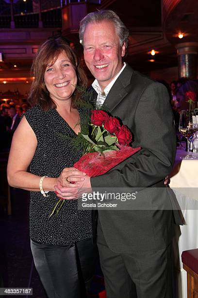 Bobby Braeuer BMW Welt Muenchen and his wife Stefanie attend the Gala 'Nacht der Koeche' during the 17th 'SterneCup der Koeche' skiing competition...