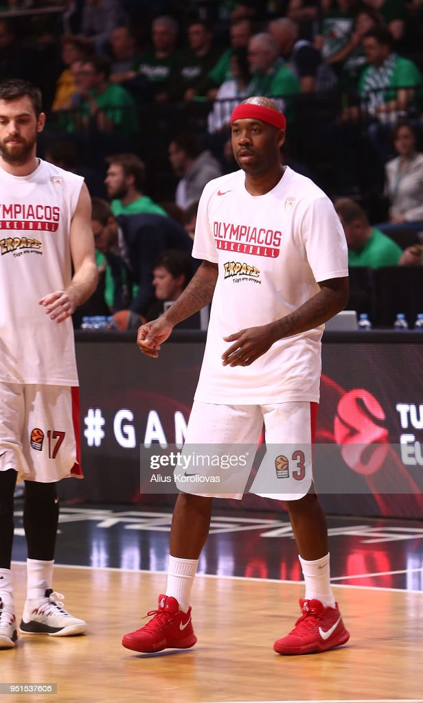 Zalgiris Kaunas v Olympiacos Piraeus - Turkish Airlines Euroleague Play off Game Four