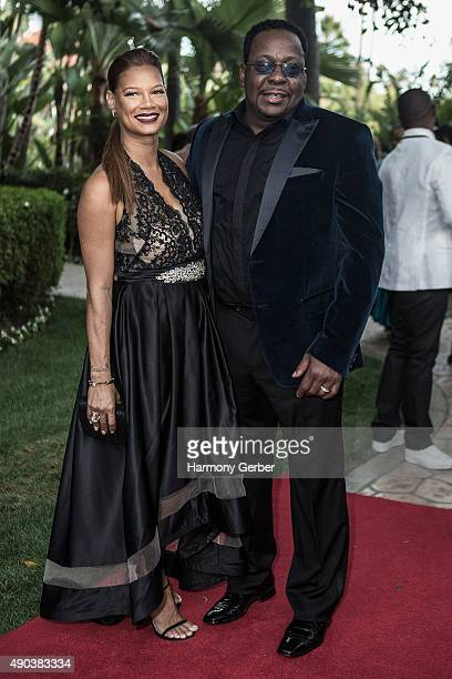 Bobby Brown and Alicia Etheredge attend the 26th Annual Heroes and Legends Awards at Beverly Hills Hotel on September 27 2015 in Beverly Hills...