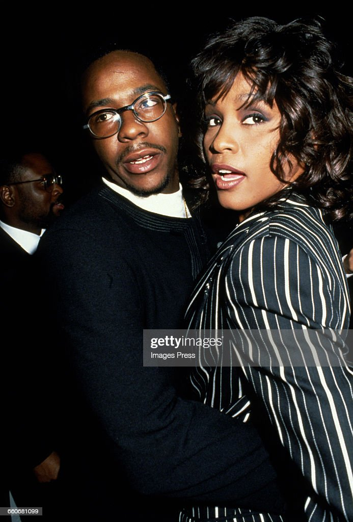 Bobby Brown and Whitney Houston circa 1994 in New York City.