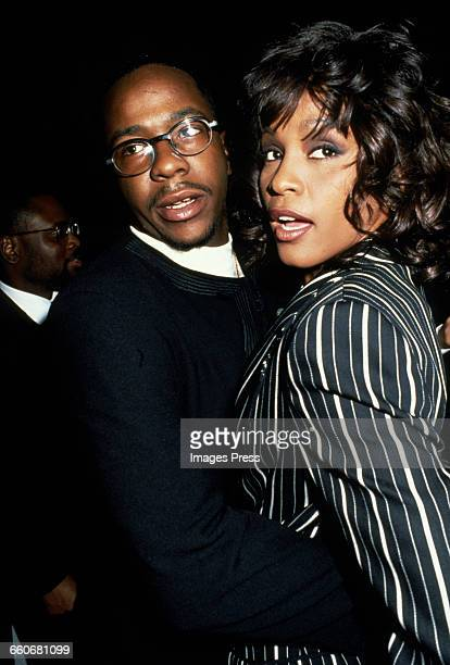 Bobby Brown and Whitney Houston circa 1994 in New York City
