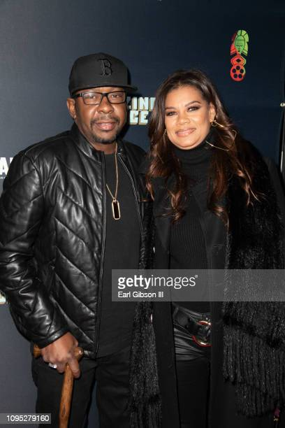Bobby Brown and wife Alicia Etheredge attend the 27th Annual Pan African Film Arts Festival Opening Night Red Carpet at Cinemark Los Angeles Baldwin...