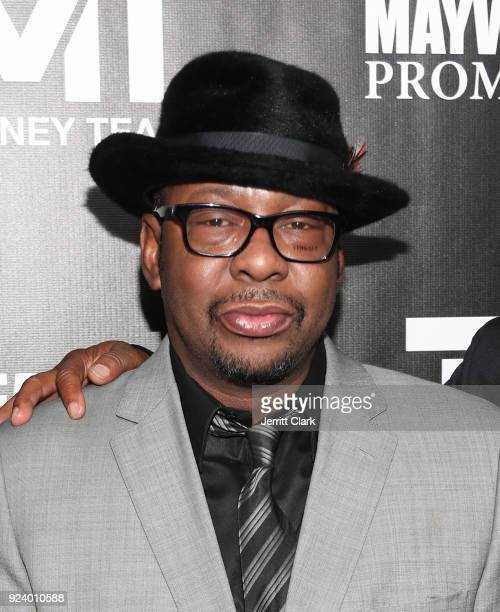Bobby Brown attends Floyd Mayweather's 41st Birthday Party at The Reserve on February 24 2018 in Los Angeles California