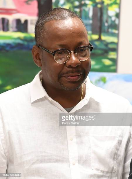 Bobby Brown attends Proclamation to Bobby Brown To Honor the 'Bobbi Kristina Serenity House' at South Fulton City Hall on July 30 2018 in City of...