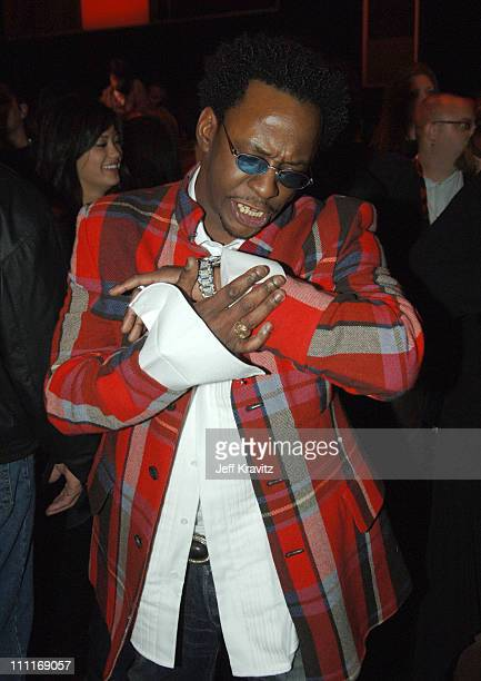 Bobby Brown during VH1 Big in '05 After Party in Los Angeles California United States