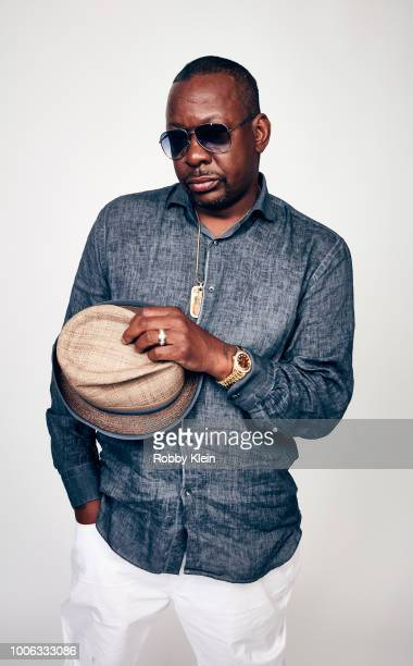 Bobby Brown of BET Network's 'The Bobby Brown Story' poses for a portrait during the 2018 Summer Television Critics Association Press Tour at The...