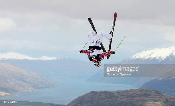 Bobby Brown of the United States of America competes in the men's Freeski Big Air final during day nine of the Winter Games NZ at Coronet Peak on...