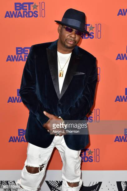 Bobby Brown poses in the press room at the 2018 BET Awards at Microsoft Theater on June 24 2018 in Los Angeles California