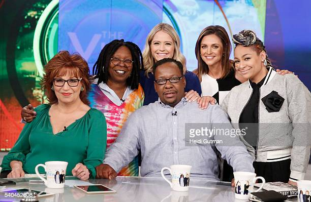 THE VIEW Bobby Brown visits THE VIEW 6/13/16 airing on the Walt Disney Television via Getty Images Television Network