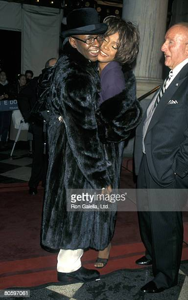 Bobby Brown Whitney Houston and Clive Davis