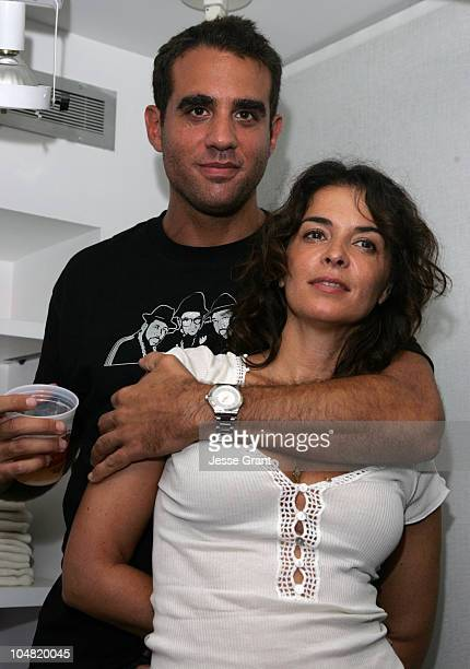 Bobby Cannavale and Annabella Sciorra during 2005 Toronto Film Festival HD Net Films Party at Premiere Lounge at Club Monaco in Toronto Canada