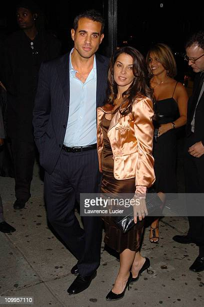 Bobby Cannavale and Annabella Sciorra during Shall We Dance New York Premiere After Party at Branch in New York City New York United States
