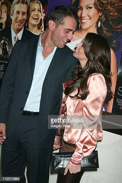 Bobby Cannavale and Annabella Sciorra during 'Shall We Dance' New York Premiere Inside Arrivals at Paris Theater in New York City New York United...