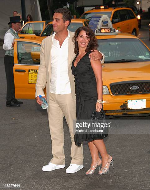 Bobby Cannavale and Annabella Sciorra during The Fresh Air Fund Salute To American Heroes June 1 2006 at Tavern On the Green in New York City New...