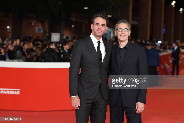 Bobby Cannavale and John Turturro attend the Motherless Brooklyn red carpet during the 14th Rome Film Festival on October 17 2019 in Rome Italy