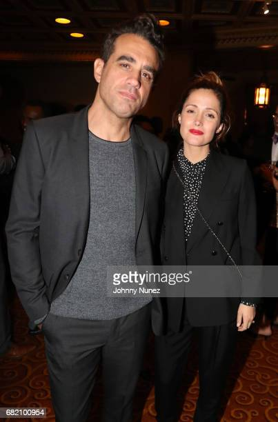 Bobby Cannavale and Rose Byrne attend 2017 Brotherhood/Sister Sol Voices Gala at Gotham Hall on May 11 2017 in New York City