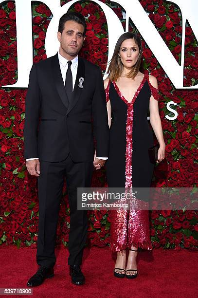 Bobby Cannavale and Rose Byrne attend 70th Annual Tony Awards Arrivals at Beacon Theatre on June 12 2016 in New York City